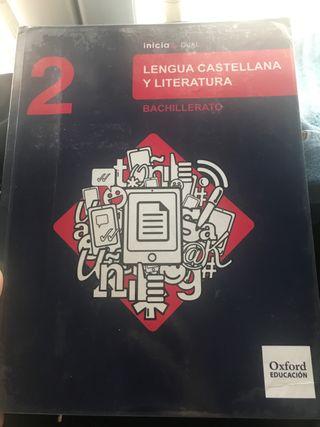 Libro de Lengua, 2 bachiller