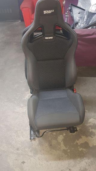 asientos recaro cs clio sport 197