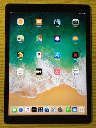 iPad Pro 12.9 (2ª generación 2017) gris espacial.