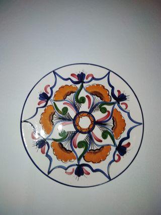 Platos de porcelana para colgar en la pared