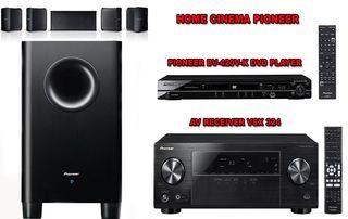 RECEPTOR AV - HOME CINEMA PIONEER CON DVD