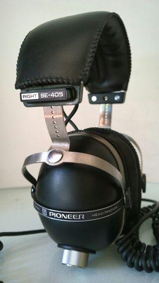 Pioneer SE-405 Headphones Auriculares Vintage