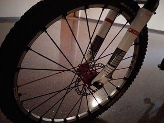 Bicicleta de montaña Cube carbono