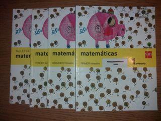 Libros de Matemáticas 1° de Primaria
