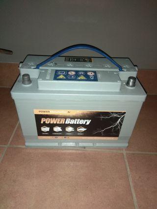 Batería descarga lenta para autocaravana
