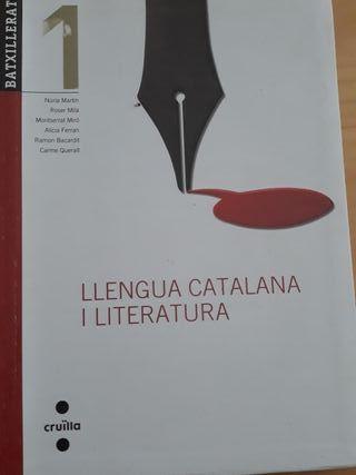 llibre llengua catalana 1r Batx