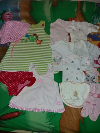 Lote de ropa de verano talla 12-18 meses