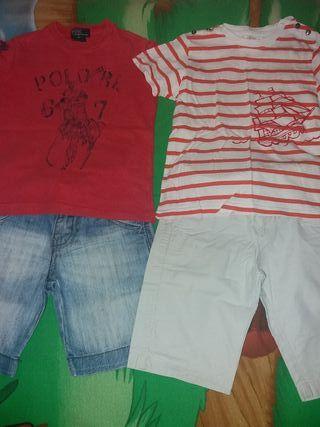 Lote de ropa de verano talla 3 años