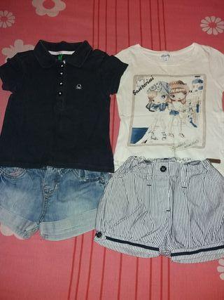 Lote de ropa de verano talla 2'3 años