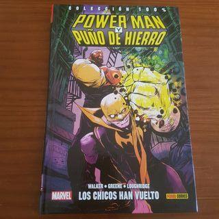 100% MARVEL HC POWER MAN Y PUÑO DE HIERRO 1