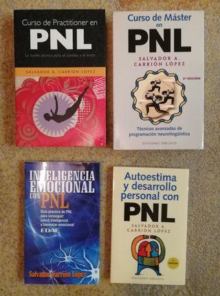 Pack de libros de Salvador Carrión PNL