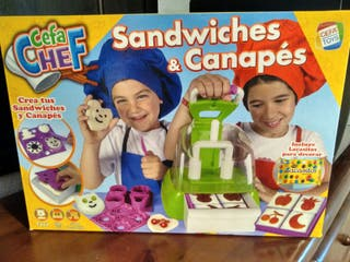 Cefachef Sandwich y Canapés