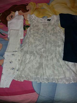 Lote de ropa de verano talla 18'24 meses