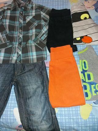 Lote de ropa de otoño talla 6'7 años