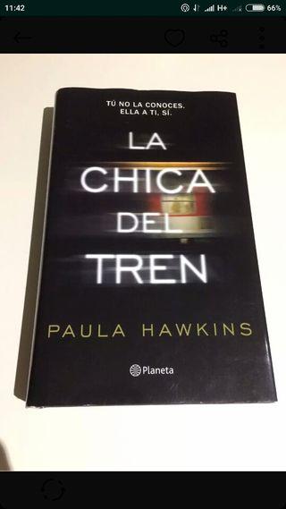 """Libro la chica del tren """"tapa dura"""""""