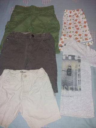 Lote de ropa de verano talla 2-3 años