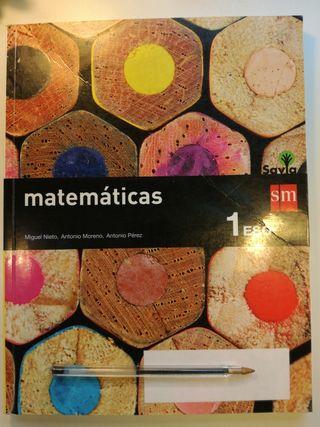 Matematicas 1 ESO Savia