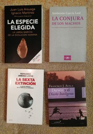 Pack de libros de antropología