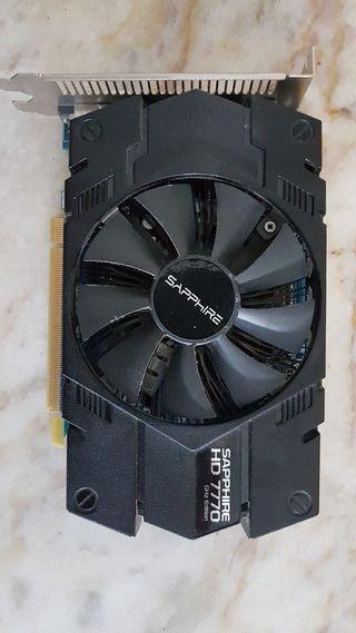 Tarjeta gráfica AMD Ati radeon HD 7770 1GB GDDR5