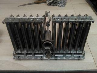 Serpentin de gas natural y gas butano