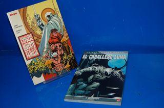 Lote dos Tomos Comics CABALLERO LUNA buen estado