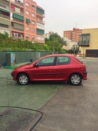 Coche Peugeot 206 Rojo