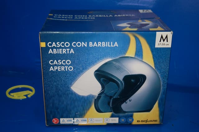 Casco Moto B-SQUARE buen estado-Talla M NUEVO
