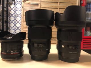 Canon 6D y accesorios