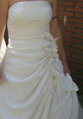 vestido de novia talla 36 de segunda mano en bilbao en wallapop