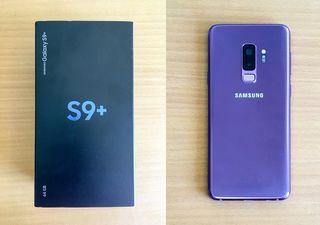 Samsung galaxy s9 plus lila purple 64gb