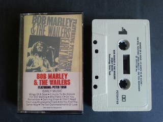 cassette musica bob marley and the wailers