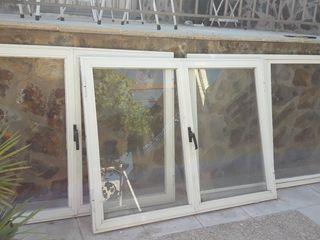 ventanas de aluminio.