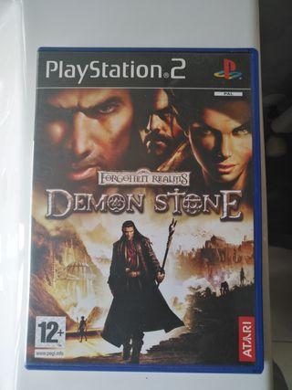 juego play 2 demon stone
