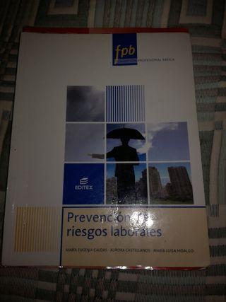 libro prevención de riesgos laborales fpb