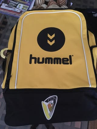 Mochila Hummel amarillo/negro Nueva