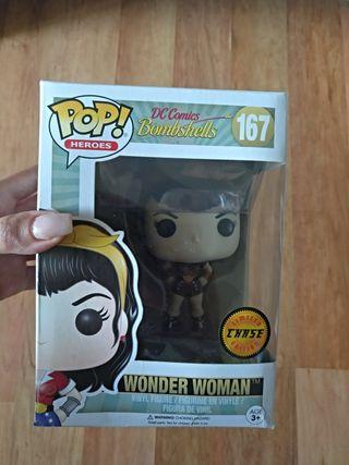 Funko pop wonder woman chase