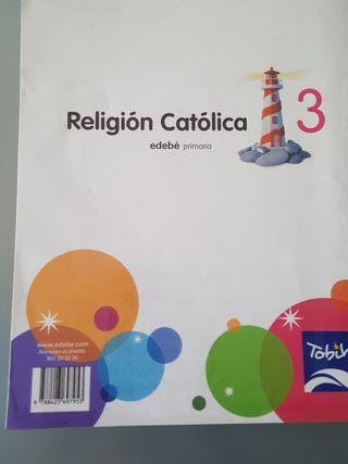 Libro de religion catolica de 3°