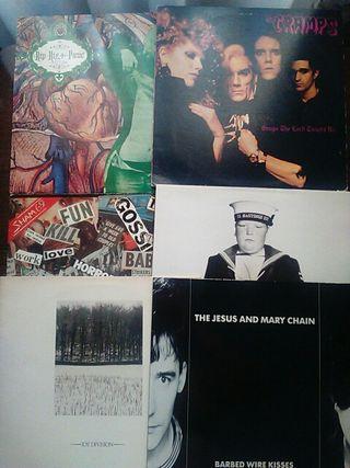 Discos de vinilo de Rock