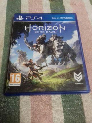 juego horizon zero dawn