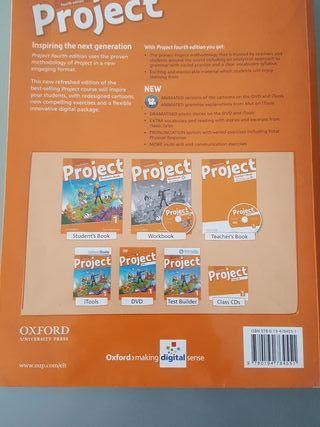 Libro de ingles de 4 OXFORD.Project Student's Book