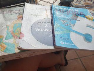 libros de texto 2°ESO