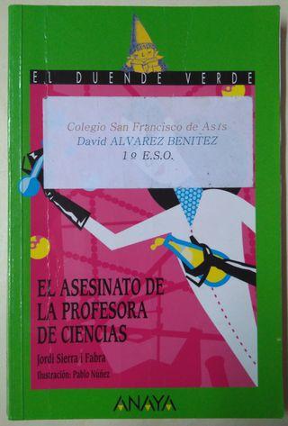 EL ASESINATO DE LA PROFESORA D CIENCIA