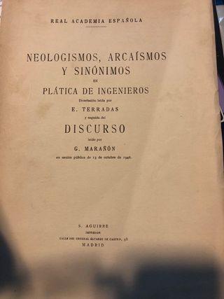 Neologismos ,arcaismos y sinon