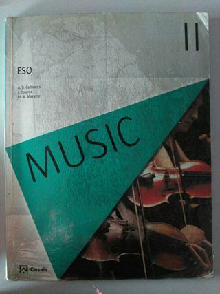 Libro de música en inglés de Casals, 3° ESO.