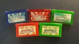 Coleccion Pokemon Japones GameBoy Advance