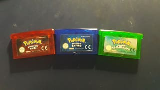 Coleccion Pokemon Hoenn GameBoy Advance