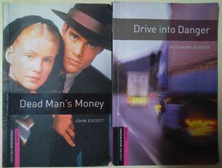 Cuadernillos DEAD MANS MONEY y DRIVE INTO DANGER