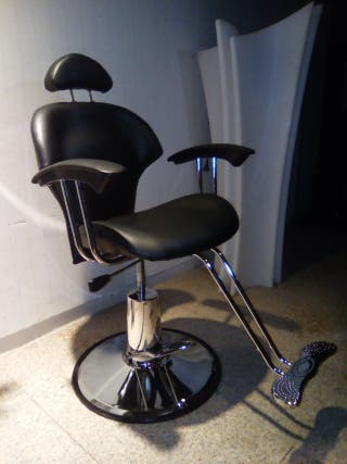 silla barbero o maquillaje con 1 solo