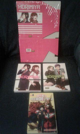Manga Horimiya Pack 1 y 2