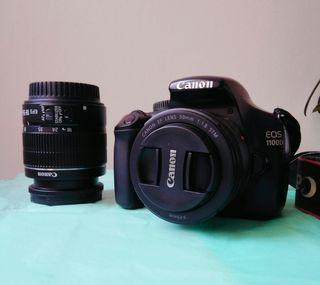 Camara Canon eos1100d reflex